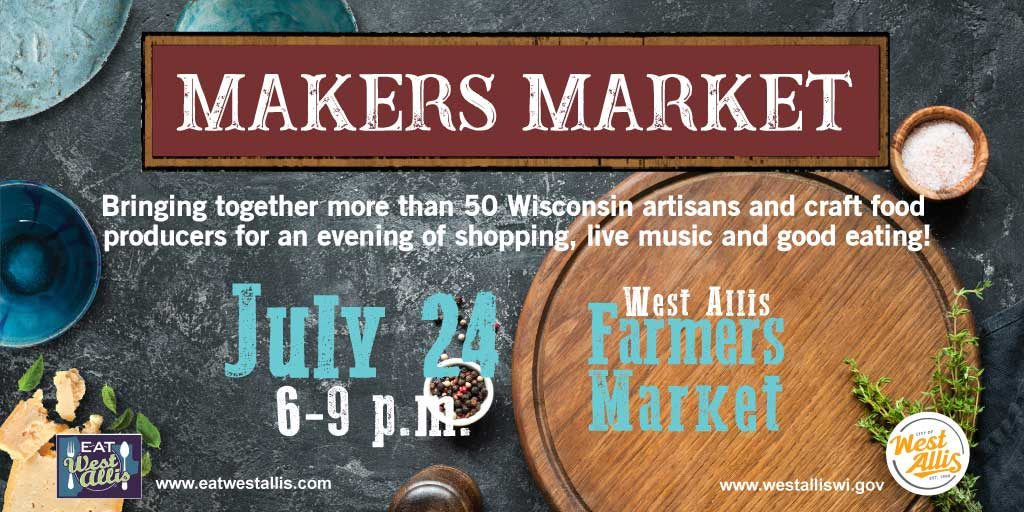 makers market graphic july 24 2019