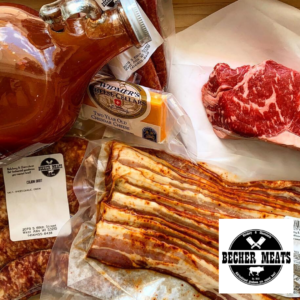 Photograph of products at Becher Meats